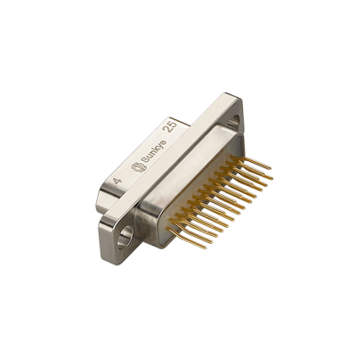 Sunkye R04J MIL-DTL-83513 Micro D-Sub Straight PCB Type Connectors